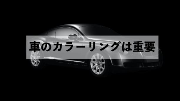 車のカラーリング